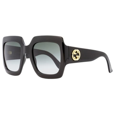 Gucci GG0053S 001 Mens Black 54 mm Sunglasses