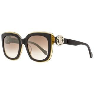 Roberto Cavalli RC1069 Grosseto 05G Mens Black/Honey 51 mm Sunglasses