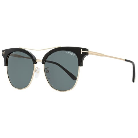 Tom Ford TF549K 01A Mens Black/Gold 56 mm Sunglasses