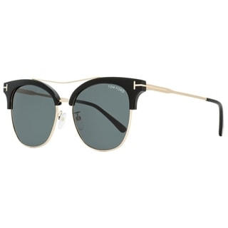 Link to Tom Ford TF549K 01A Mens Black/Gold 56 mm Sunglasses Similar Items in Women's Sunglasses