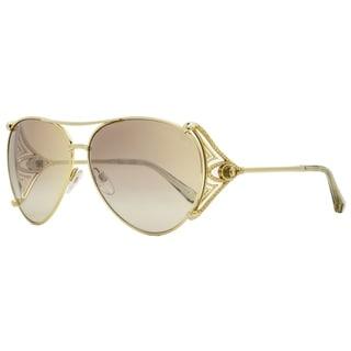 Roberto Cavalli RC1057 Fucecchio 32G Mens Gold 61 mm Sunglasses