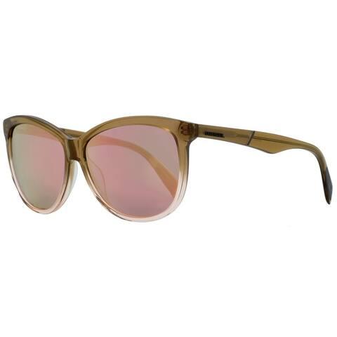 Diesel DL0221 47Z Mens Light Brown Gradient 59 mm Sunglasses - Light Brown Gradient - Light Brown Gradient