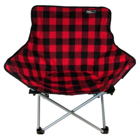 Travel Chair ABC Camp Chair, Limited Edition in Buffalo Plaid