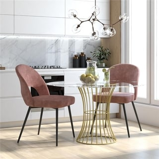 CosmoLiving by Cosmopolitan Alexi Upholstered Dining Chair