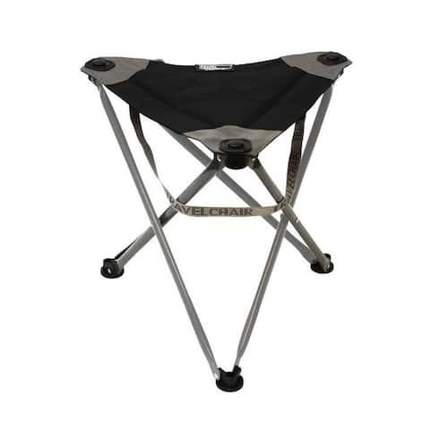 Travel Chair Big Slacker Camp Stool in Black