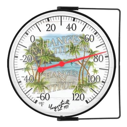 "La Crosse 104-1512MV-TBP ""Changes in Latitudes"" 5 In. Dial Thermometer"