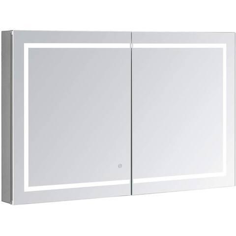 AQUADOM Royale Plus, LED Medicine Cabinet 40in x 36in x 5in