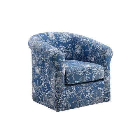 Moriarty Swivel Club Chair