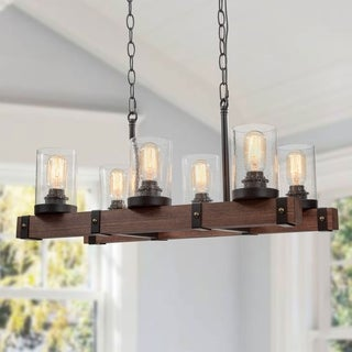 Carbon Loft DeGarmo Farmhouse 5-light Pendant Lighting for Kitchen Island