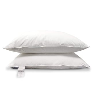 Link to KASENTEX Egpytian Cotton, Down Pillow Pair, Set of 2 - White Similar Items in Pillows