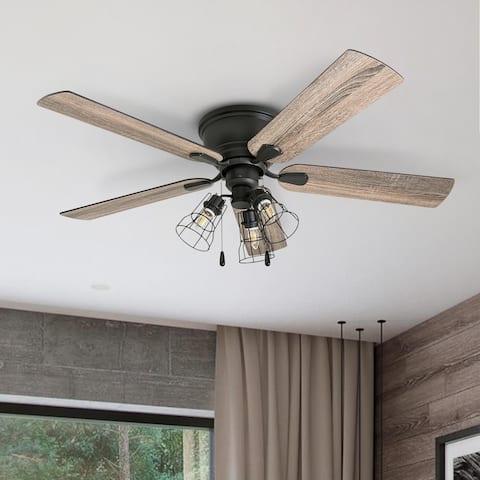 Carbon Loft Noakes 52-inch Coastal Indoor LED Ceiling Fan - 52