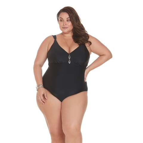 Sun and Sea Looped Shoulder Women's One Piece