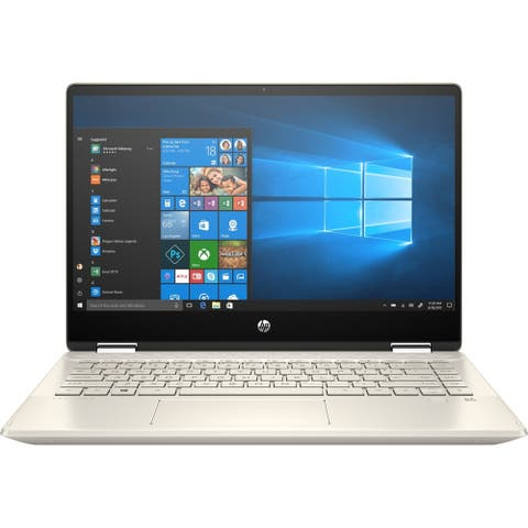 "HP Pavilion x360 14m-dh0000 14m-dh0003dx 14"" Touchscreen 2 in 1 Notebook - 1920 x 1080 - Core i5 i5-8265U - 8 GB RAM - 128 GB S"