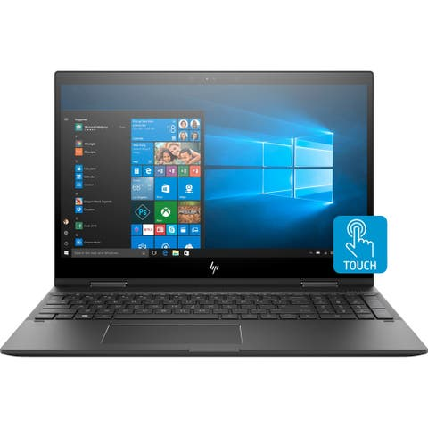 "HP ENVY x360 15-cp0000 15-cp0053cl 15.6"" Touchscreen 2 in 1 Notebook - 1920 x 1080 - Ryzen 5 2500U - 8 GB RAM - 256 GB SSD - Da"