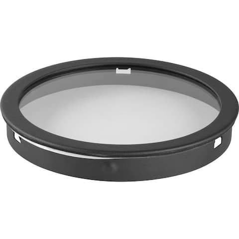 """Top Cover lens for 5"""" LED cylinder P5675 series. - 5.250"""" x 5.370"""" x 1.370"""""""
