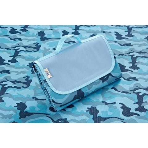 """Beach Blanket Picnic Mat For Outdoor Use, 70""""x57"""""""