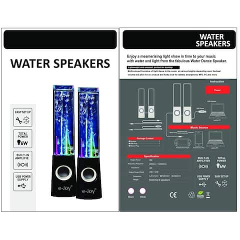 LED Dancing Water Speaker