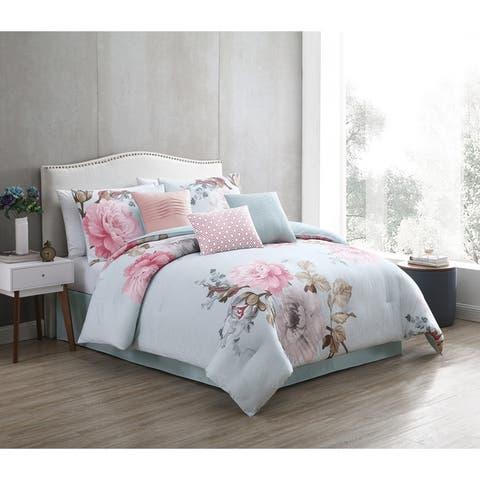 Ridgely Blush Comforter Set
