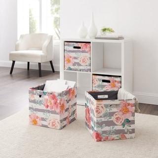 Link to Alaric Rose Storage Bin 2PK Similar Items in Storage & Organization