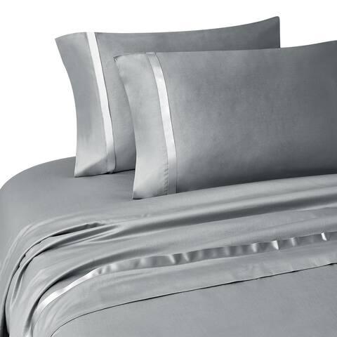 Kiley Platinum Pillowcase Pair