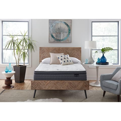 King Koil Dream Select Evia Euro Top 13.5 inch Mattress Set