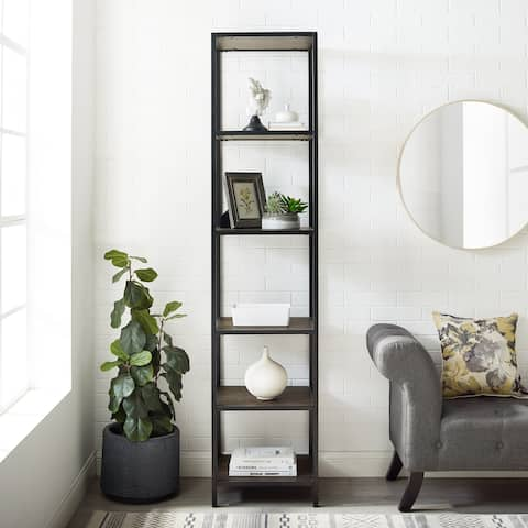 "Jacobsen Narrow Etagere - 18""W x 16""D x 80.5""H"