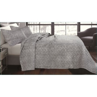 Link to Lauren Taylor-Shibori Quilt Set/Graphite Similar Items in Quilts & Coverlets