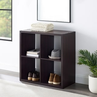Link to Alaric 4 Cubby Storage Cabinet Similar Items in Bookshelves & Bookcases