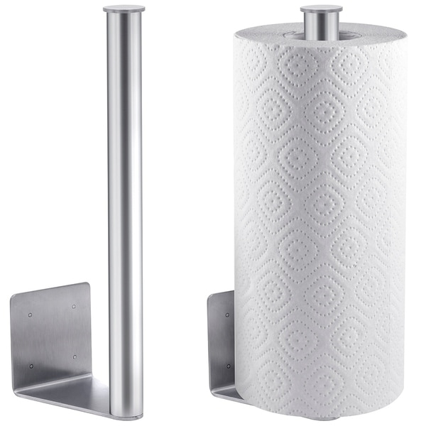 Magnetic Mount Paper Towel Holder for Grill Fridge Truck or RV Superior Stainless Steel. Opens flyout.