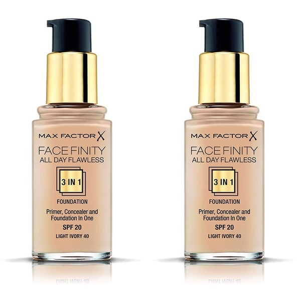 Max Factor FaceFinity All Day Flawless 3 in 1 Foundation, Primer ...