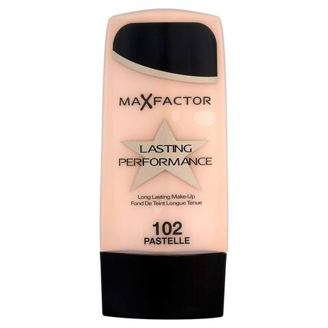 Max Factor Lasting Performance Touch Proof Foundation, 102 Pastelle