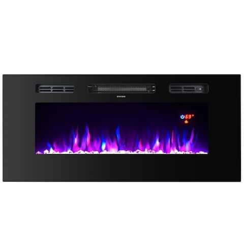 TopLife Electric Fireplace, for both wall mount or recessed mount
