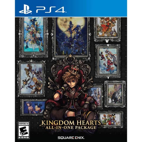 Square Enix 92378 Kingdom Hearts AIO Pkg SE PS4