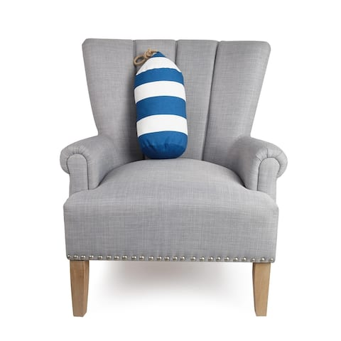 Buoy Shaped Pillow by Kate Nelligan