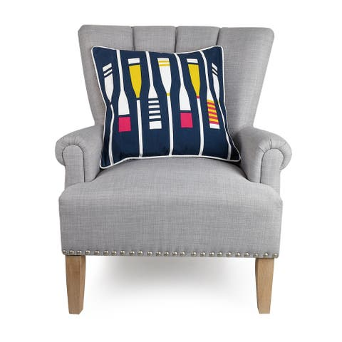 Yacht Club Pillow by Kate Nelligan