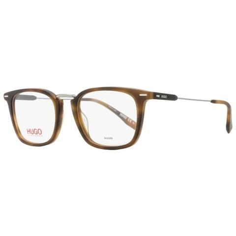 Hugo Boss HG 0327 HGC Unisex Matte Havana 50 mm Eyeglasses - Matte Havana