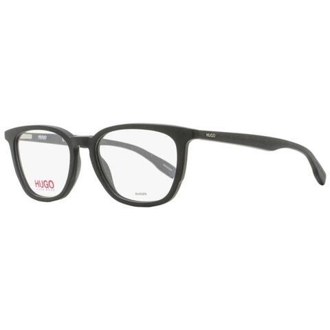 Hugo Boss HG 0302 003 Unisex Matte Black 50 mm Eyeglasses - Matte Black