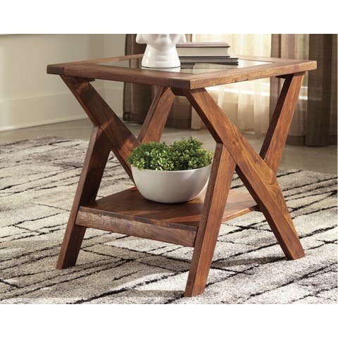Charzine Rectangular End Table