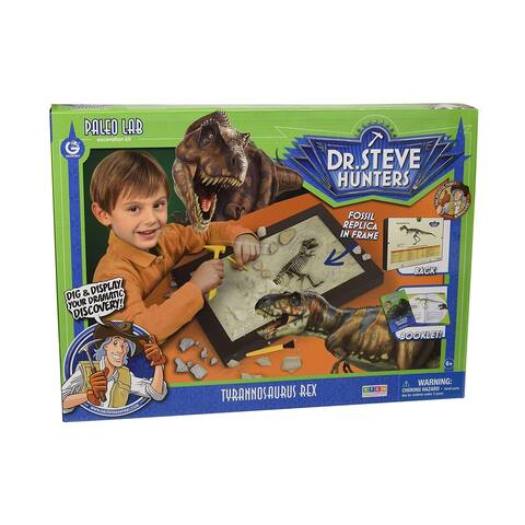 Dr. Steve Hunters - Paleo Lab Excavation Kit: Tyrannosaurus Rex