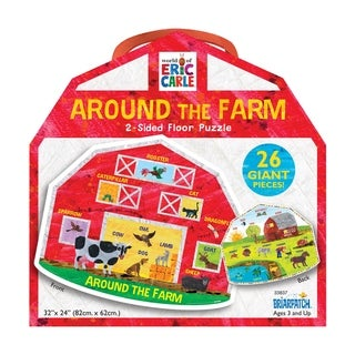 Link to The World of Eric Carle - Around the Farm 2-Sided Floor Puzzle: 26 Pcs Similar Items in Games & Puzzles