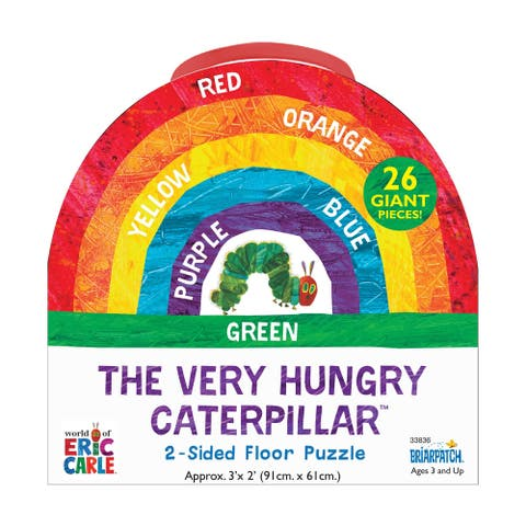 The Very Hungry Caterpillar - 2-Sided Floor Puzzle: 26 Pcs