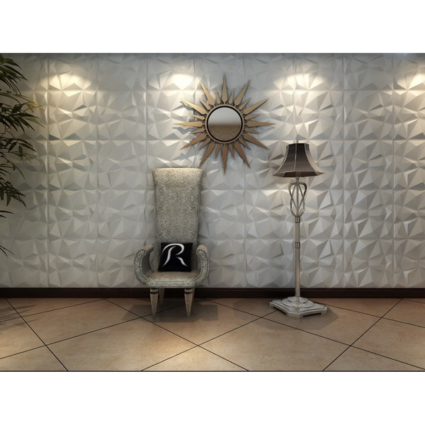 3D Fiber Wall Panelling - 24pc. Opens flyout.