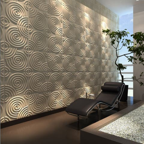 "3D Fiber Wall Panelling, 20""x20""/pc - 24pc"