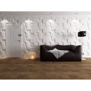 """Link to 3D Fiber Wall Decor Panelling, 32""""x25""""/pc - 6pc Similar Items in Wall Coverings"""
