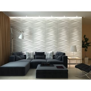 """Link to 3D Fiber Wall Decor Panelling, 32""""x25""""/pc Similar Items in Wall Coverings"""