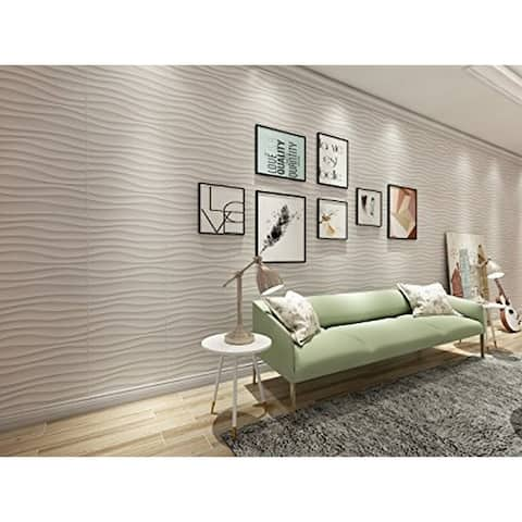 """3D Embossed PVC Panel For Wall Decor, 20""""x20""""/pc - 20pc"""