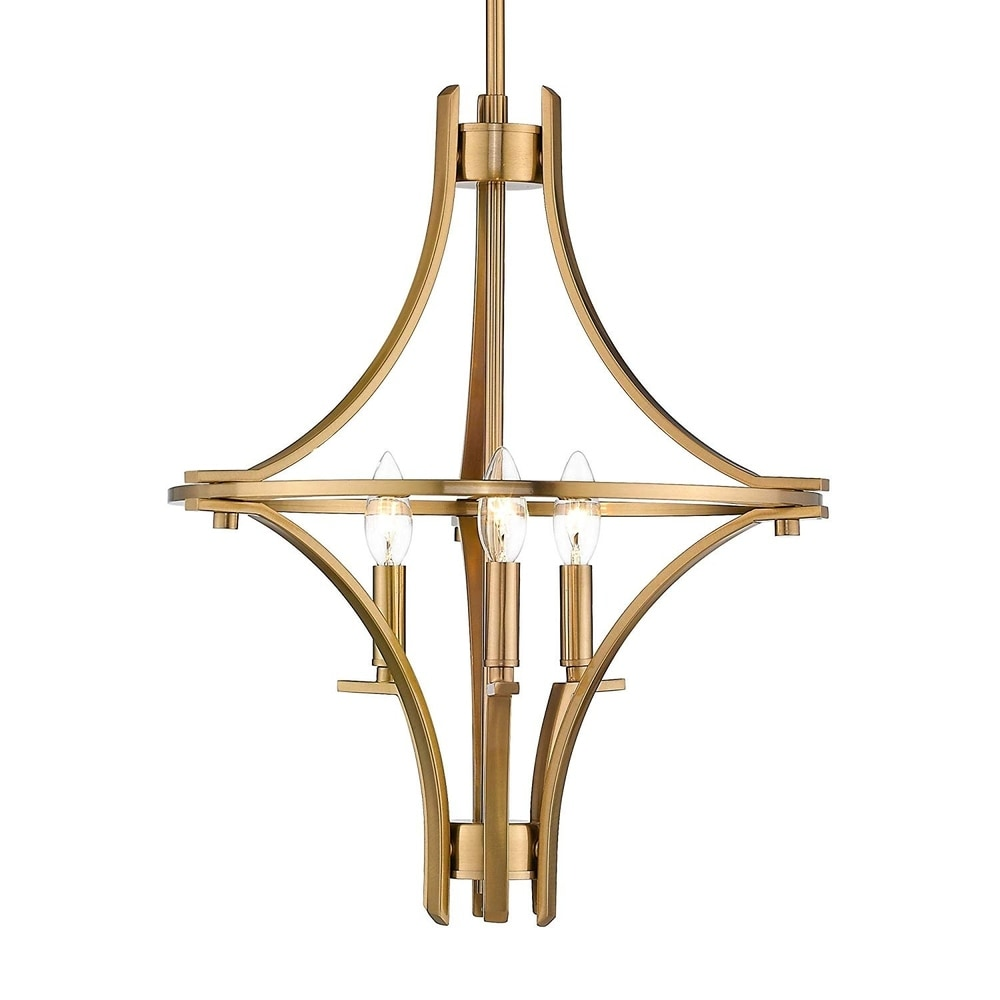 French Empire Antique Bronze 5 Light Crystal Chandelier Ceiling Pendant Lighting Fixture Lamp for Dining Room, Living Room, Foyer, Lobby, Hallway