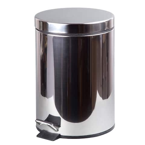 Creative Home 3L Stainless Steel Step on Can
