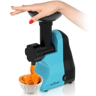 NutriChef Frozen Dessert Maker, Electric Soft Serve & Sorbet Machine (Frozen Yogurt, Ice Cream, Sorbet)