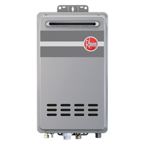 Rheem Mid-Efficiency 7.0GPM Outdoor Natural Gas Tankless Water Heater